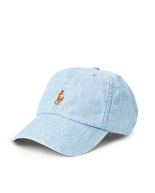 Polo Ralph Lauren Cls Sprt Cap-Hat Chmbry Blue