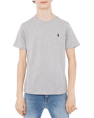Polo Ralph Lauren Cn Tee-Tops-Knit Light Pastel Grey