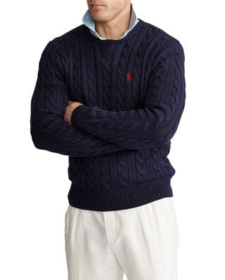 Polo Ralph Lauren Cotton Cable-Lsl-Swt Hunter Navy