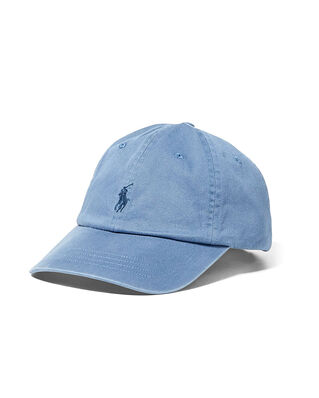 Polo Ralph Lauren Cotton Chino Baseball Cap Carson Blue
