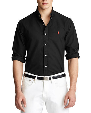 Polo Ralph Lauren Cu Bd Ppc Sp Long Sleeve Sport Shirt Black