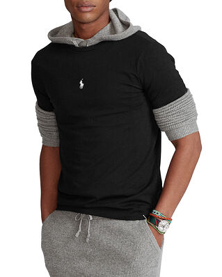Polo Ralph Lauren Custom Slim Fit Crewneck T-Shirt Black