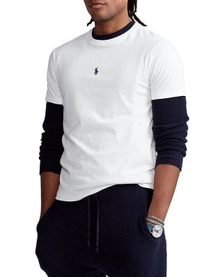 Polo Ralph Lauren Custom Slim Fit Crewneck T-Shirt White