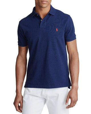 Polo Ralph Lauren Custom Slim Fit Mesh Polo Newport Navy