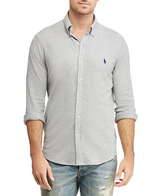 Polo Ralph Lauren Featherweight Mesh Shirt Grey