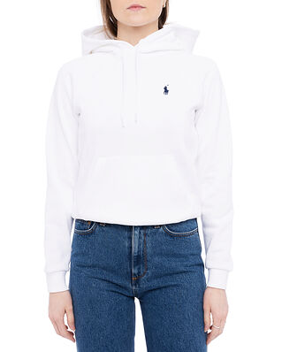 Polo Ralph Lauren Fleece Pullover Hoodie White