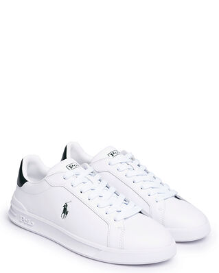 Polo Ralph Lauren Heritage Court II Leather Sneaker White College Green