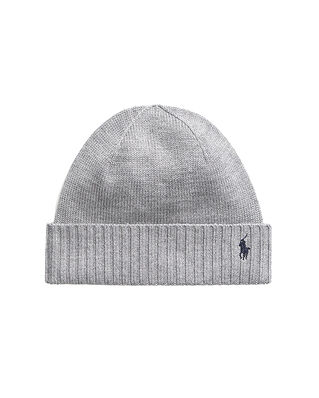 Polo Ralph Lauren Junior Hat-Apparel Accessories-Hat Grey Htr