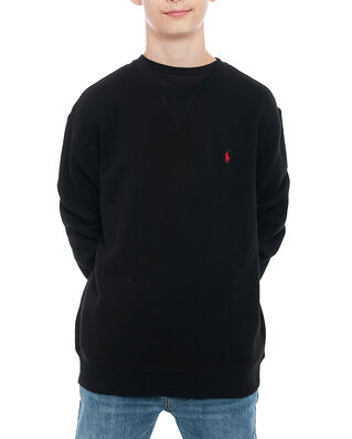 Polo Ralph Lauren Junior Ls Cn-Tops-Knit Black