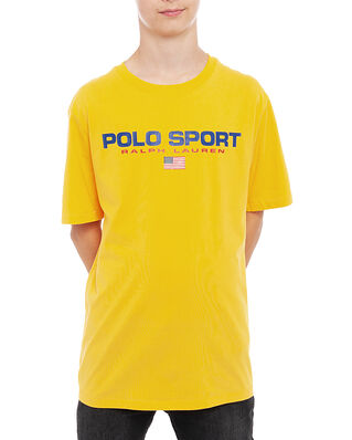 Polo Ralph Lauren Junior Ss Cn-Tops-T-Shirt Gold