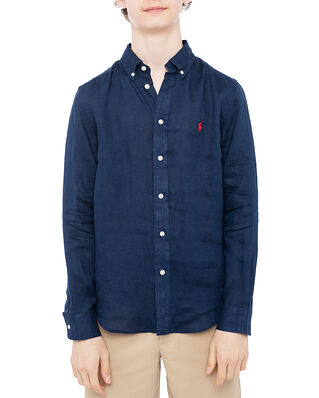 Polo Ralph Lauren Ls Bd-Tops-Shirt Navy