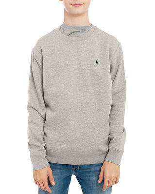 Polo Ralph Lauren Ls Cn-Tops-Knit Grey Htr