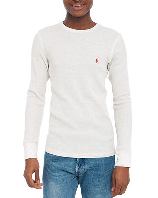 Polo Ralph Lauren L/S Crew-Crew-Sleep Top Natural