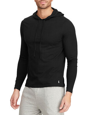 Polo Ralph Lauren L/S Hoodie Sleep Top Black