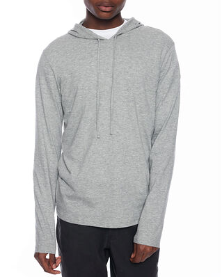 Polo Ralph Lauren L/S Hoodie Sleep Top Grey Htr