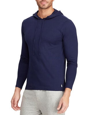 Polo Ralph Lauren L/S Hoodie Sleep Top Navy