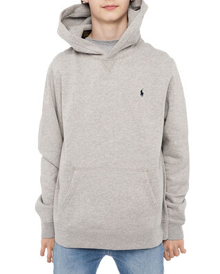 Polo Ralph Lauren Ls Po Hood-Tops-Knit Grey