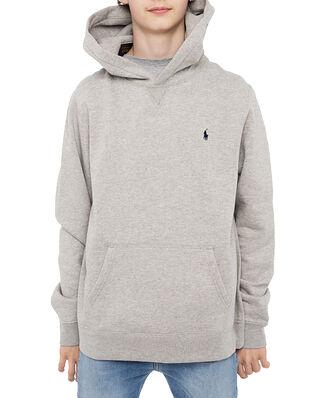Polo Ralph Lauren Ls Po Hood-Tops-Knit Grey