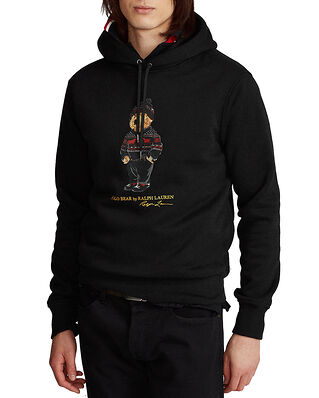 Polo Ralph Lauren Lunar New Year Polo Bear Fleece Hoodie Black