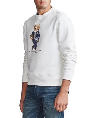 Polo Ralph Lauren Magic Fleece-Lsl-Knt Deckwash White
