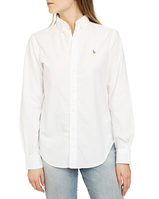 Polo Ralph Lauren Ngl Georgia-Long Sleeve-Shirt White