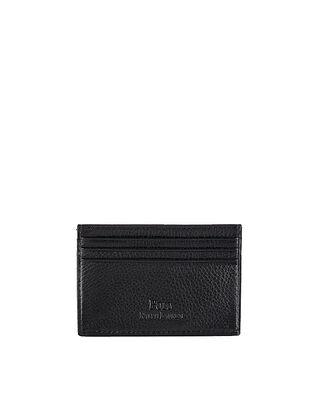 Polo Ralph Lauren Pebble Leather Card Case Black