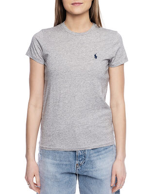Polo Ralph Lauren Rl Tee W PP-Short Sleeve-Knit Grey