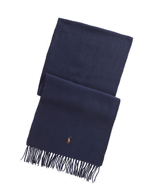 Polo Ralph Lauren Sign Italian-Oblong Scarf Navy