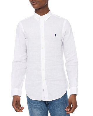Polo Ralph Lauren Slbdppcs-Long Sleeve Sport Shirt White