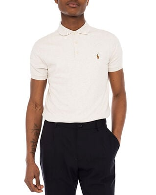 Polo Ralph Lauren Slim Fit Polo Shirt Grey Heather