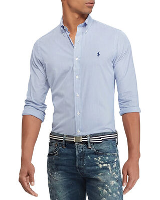 Polo Ralph Lauren Slim Fit Poplin Shirt Blue