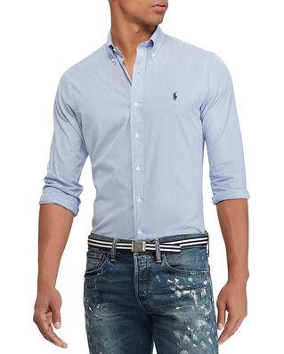 Polo Ralph Lauren Slim Fit Poplin Shirt Blue