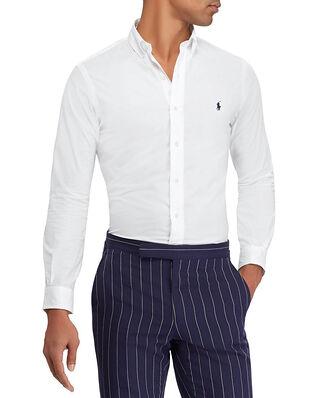 Polo Ralph Lauren Slim Fit Poplin Shirt White