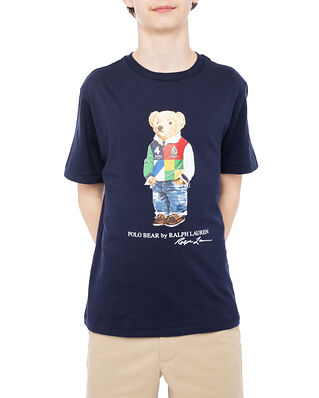 Polo Ralph Lauren Ss Cn-Tops-T-Shirt Navy