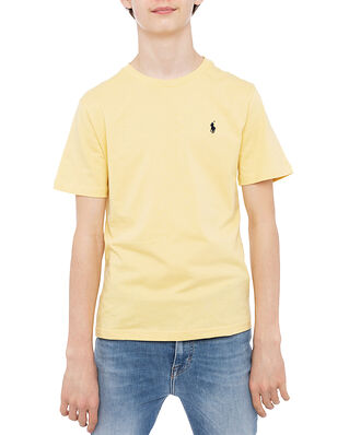 Polo Ralph Lauren Ss Cn-Tops-T-Shirt Yellow