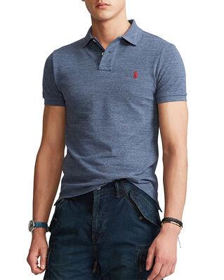 Polo Ralph Lauren SS Slim Fit Short Sleeve Knit Blue