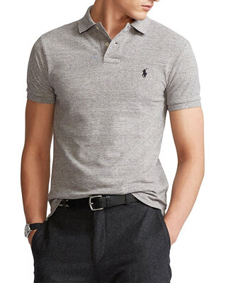 Polo Ralph Lauren SS Slim Fit Short Sleeve Knit Grey Htr