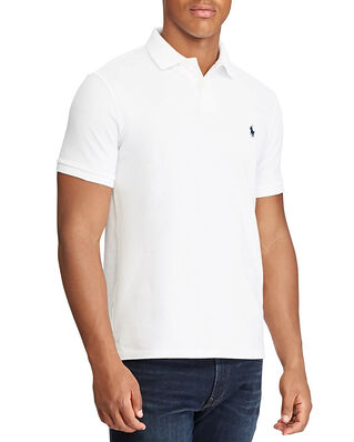 Polo Ralph Lauren SS Slim Fit Short Sleeve Knit White