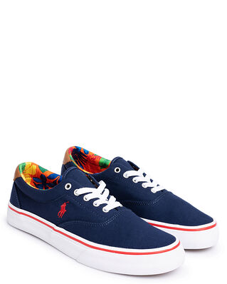Polo Ralph Lauren Thorton Canvas Trainer Navy