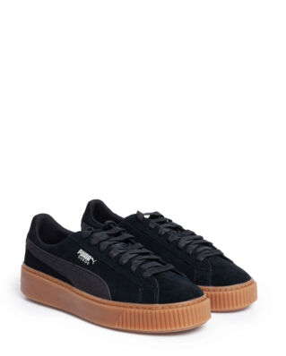 Puma Suede Platform Animal Black-Silver