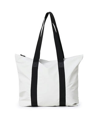 Rains Tote Bag Rush Off White