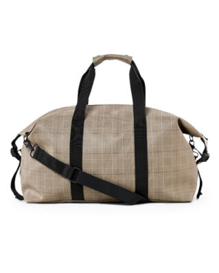 Rains Check Weekend Bag Check Beige