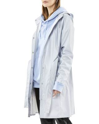 Rains Curve Jacket Metallic Ice Grey