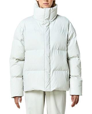 Rains Boxy Puffer Jacket Off White