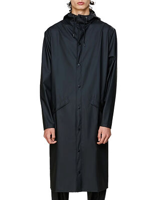 Rains Longer Jacket Black