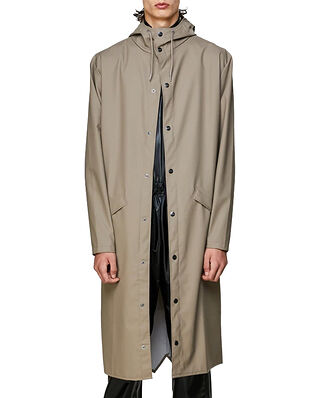 Rains Longer Jacket Taupe