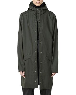 Rains Long Jacket Green