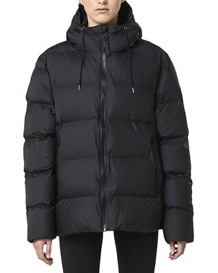 Rains Puffer Jacket Black