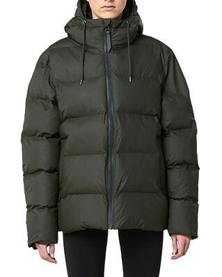 Rains Puffer Jacket Green