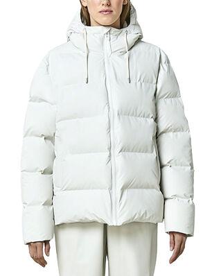 Rains Puffer Jacket Off White
